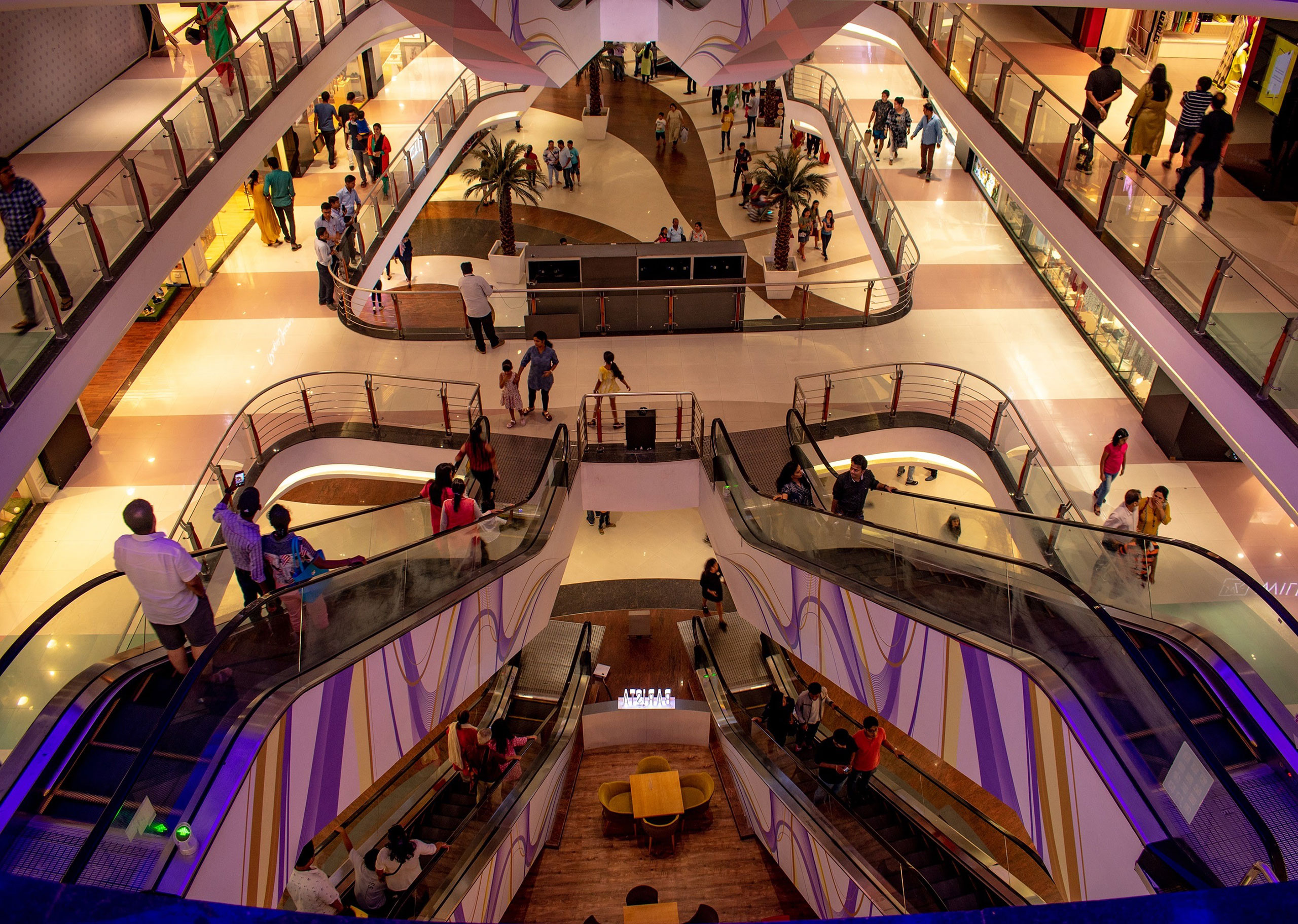 Do you feel lost when looking a shop in a shopping mall?